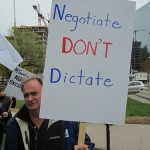 Ontario teachers are challenging the constitutionality of Bill 115.