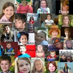 Faces of the children who died in Newton, CN, at Sandy Hook School