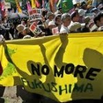 Anti-nuclear-power march