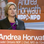 NDP leader Andrea Horwath.