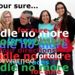 The founders of Idle No More.