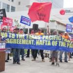 TPP protest.