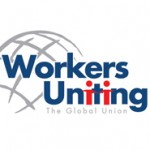 Workers Uniting logo.
