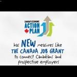 Canada Job Grant Ad.